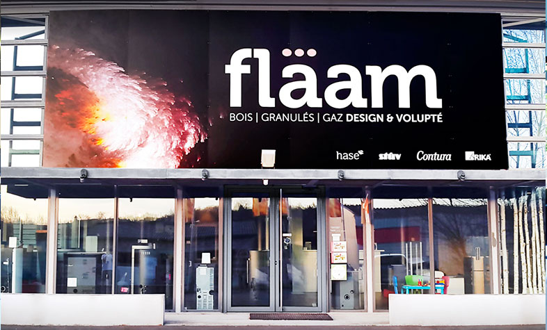 Boutique Flaam implanté dans le Tarn - Showroom
