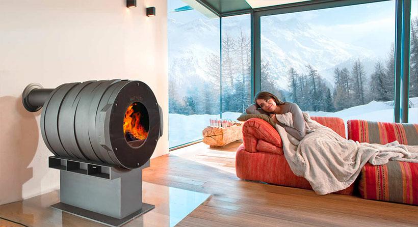 Appareil chauffage bois - Bullerjan Albi - modèle DOT