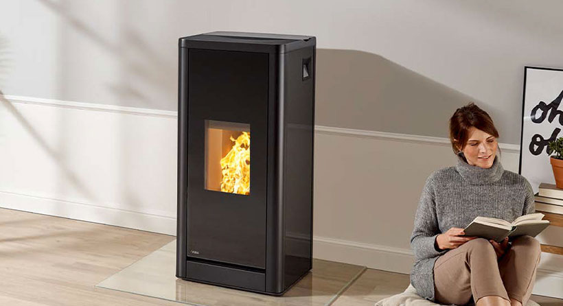 Marque Rika Flaam chauffage moderne chaleureux