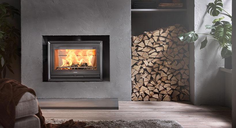 Foyer inserts Contura - élément décoratif et architectural