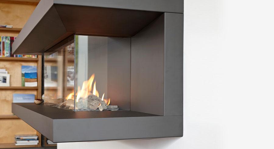 foyer à gaz - véritable meuble décoratif