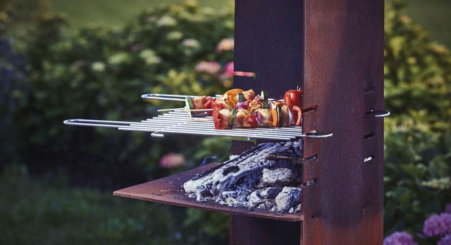 Pour un barbecue réussi ! Foyer spécialisé extérieur - Attika