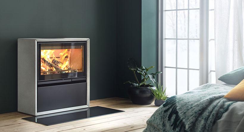 Contura - insert cheminée design pour un confort stylisé
