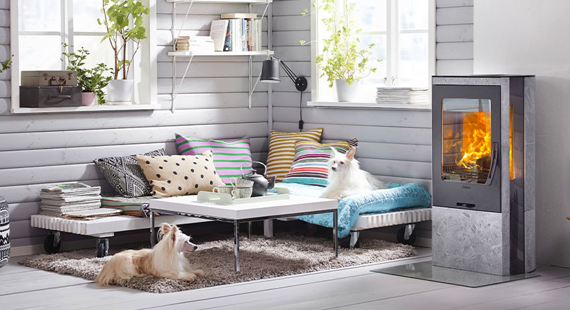 Home design poêle Contura - expert en chauffage