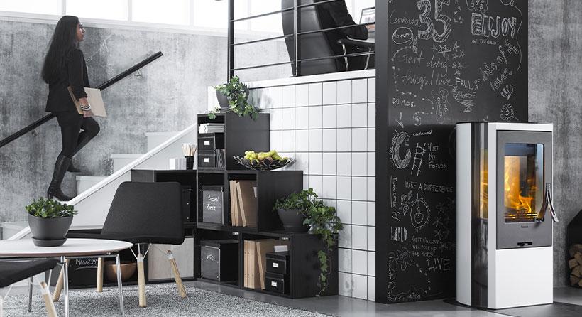 Home design poêle Contura - expert en chauffage - Modernité & efficacité