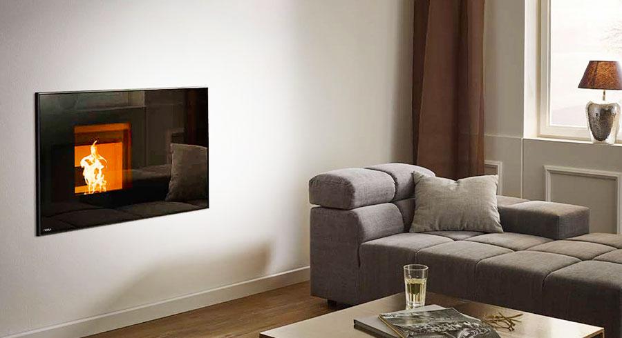 Rika - Insert noir - diffuseur de chaleur
